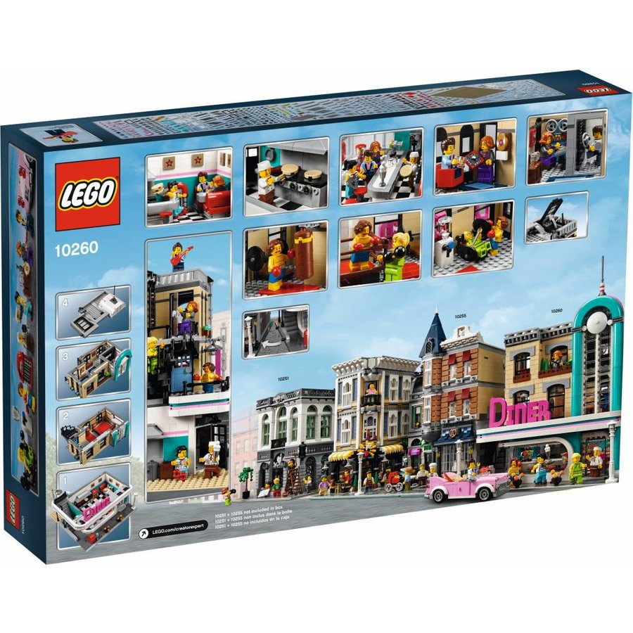 LEGO - Creator Expert - Downtown Diner - 10260