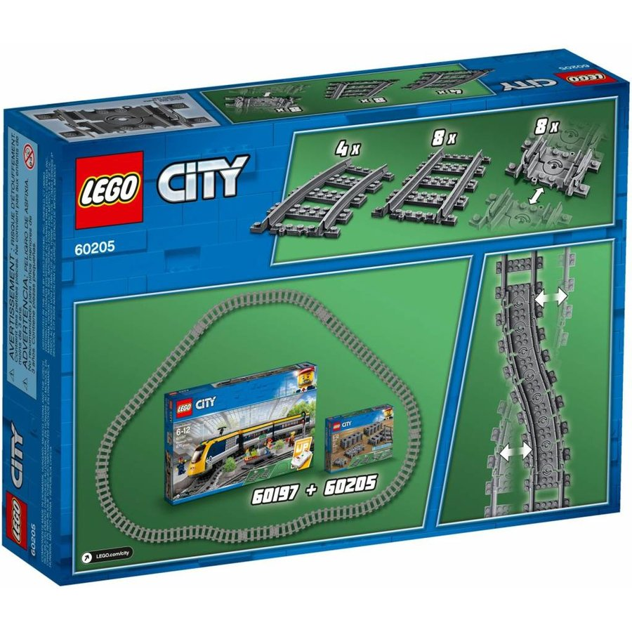 LEGO - City - Tracks and Curves - 60205