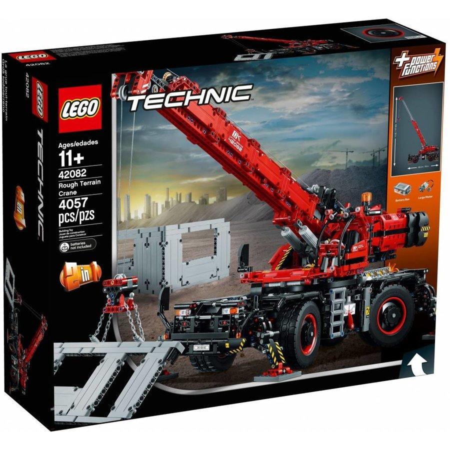 LEGO - Technic - Rough Terrain Crane - 42082