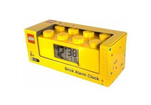 Classic Alarm Clock Yellow