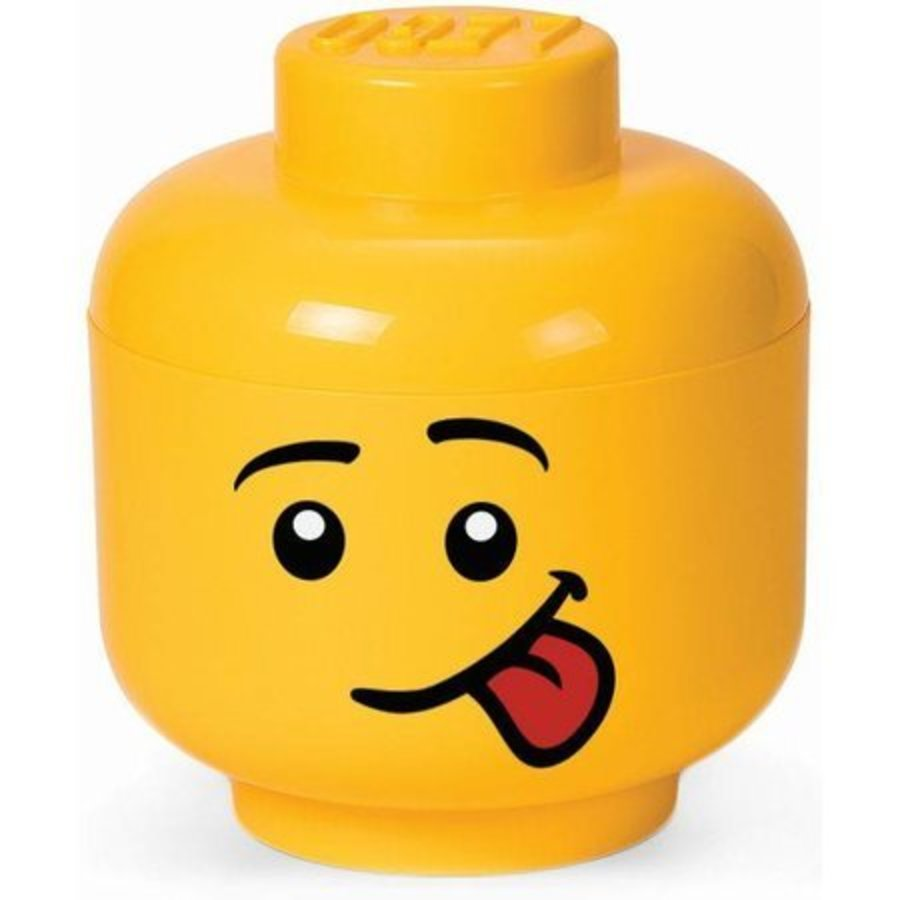 LEGO - Storage - Storage box: Head Boy Silly Small