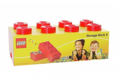 Storage Box LEGO Brick Red
