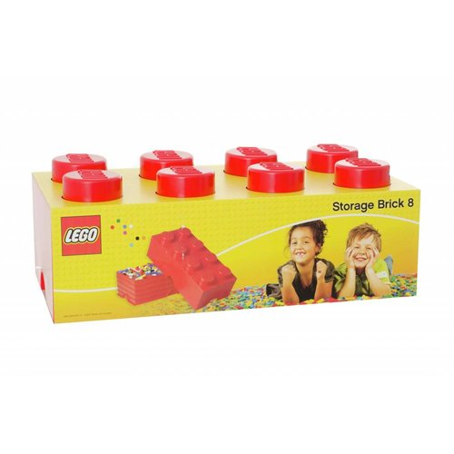 Storage Box LEGO Brick Red