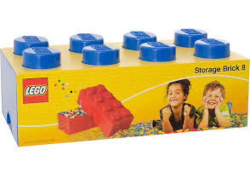 Storage Box LEGO Brick Blue