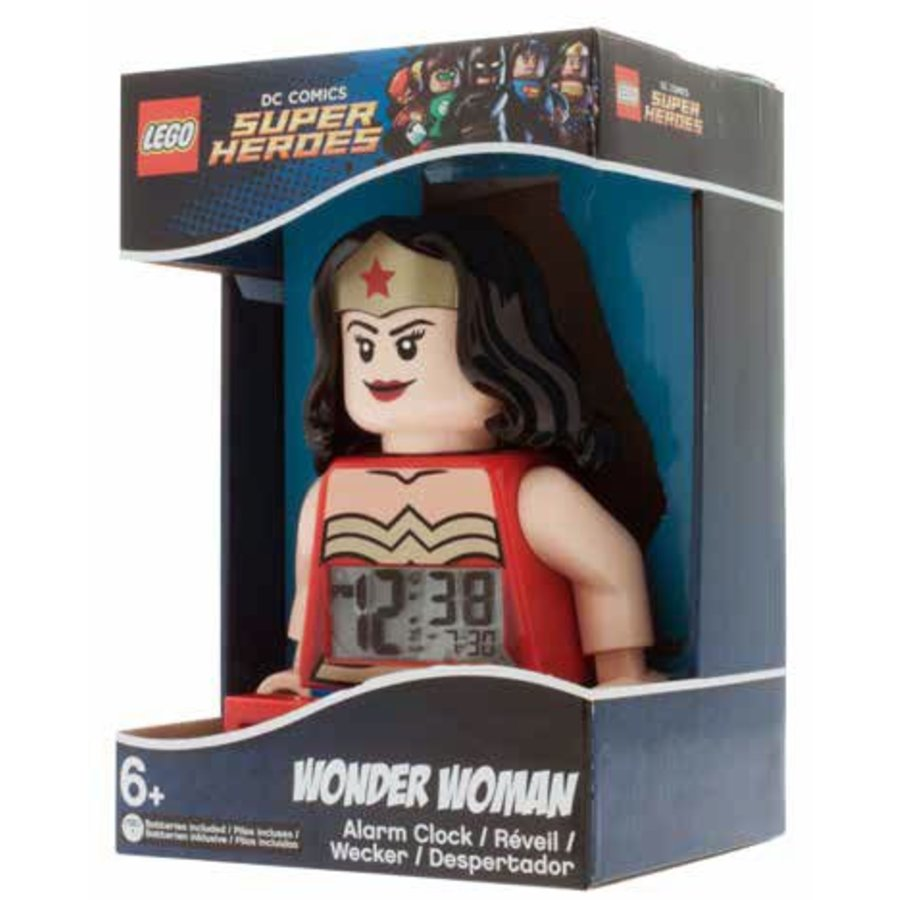 LEGO - Licensed - Superheroes - Wekker: Wonder Woman