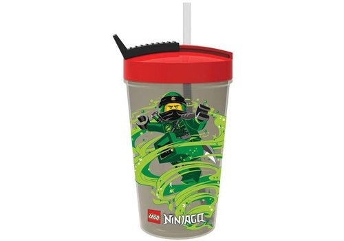 Drinking Bottle  with Straw LEGO Ninjago: classic