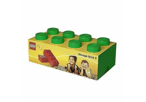 Storage Box LEGO Brick Green