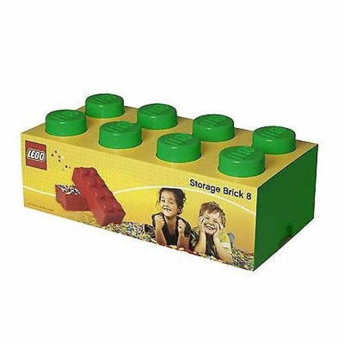 Storage Box LEGO Brick Green