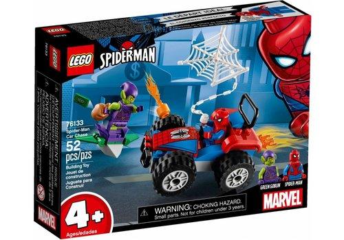 Spider-Man Auto Achtervolging