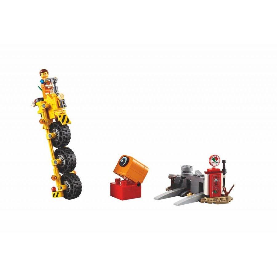 LEGO - The Movie 2 - Emmets Driewieler - 70823