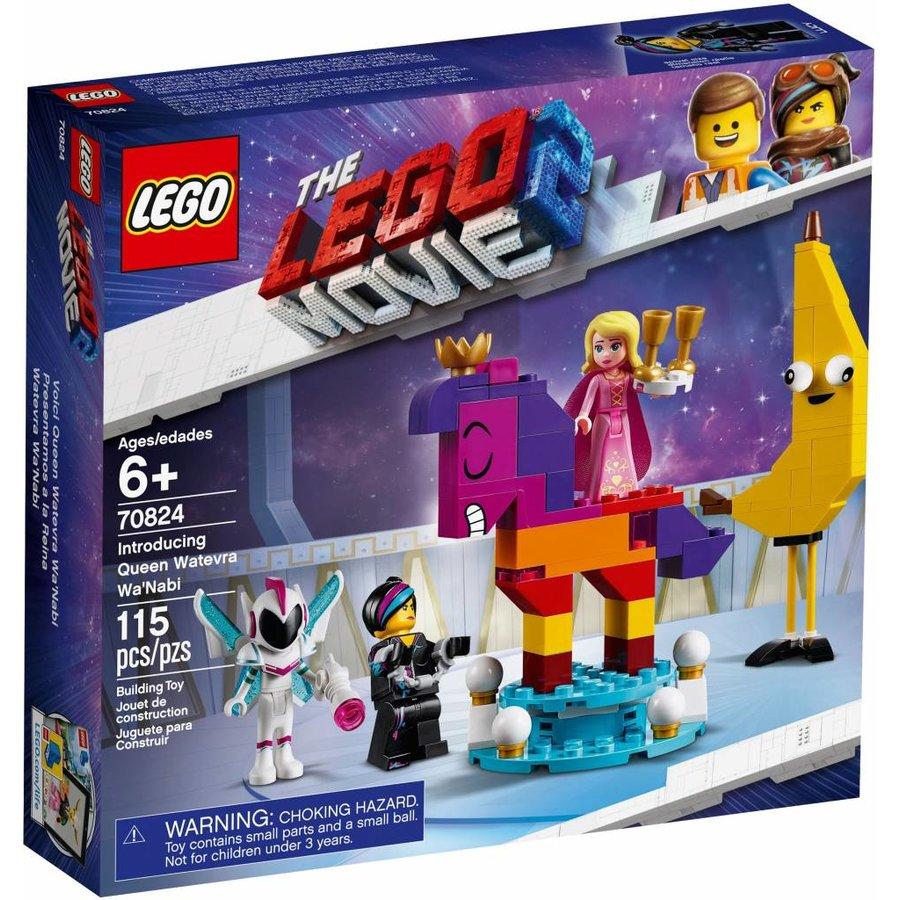 LEGO - The Movie 2 - Introducing Queen Watevra Wa'Nabi - 70824