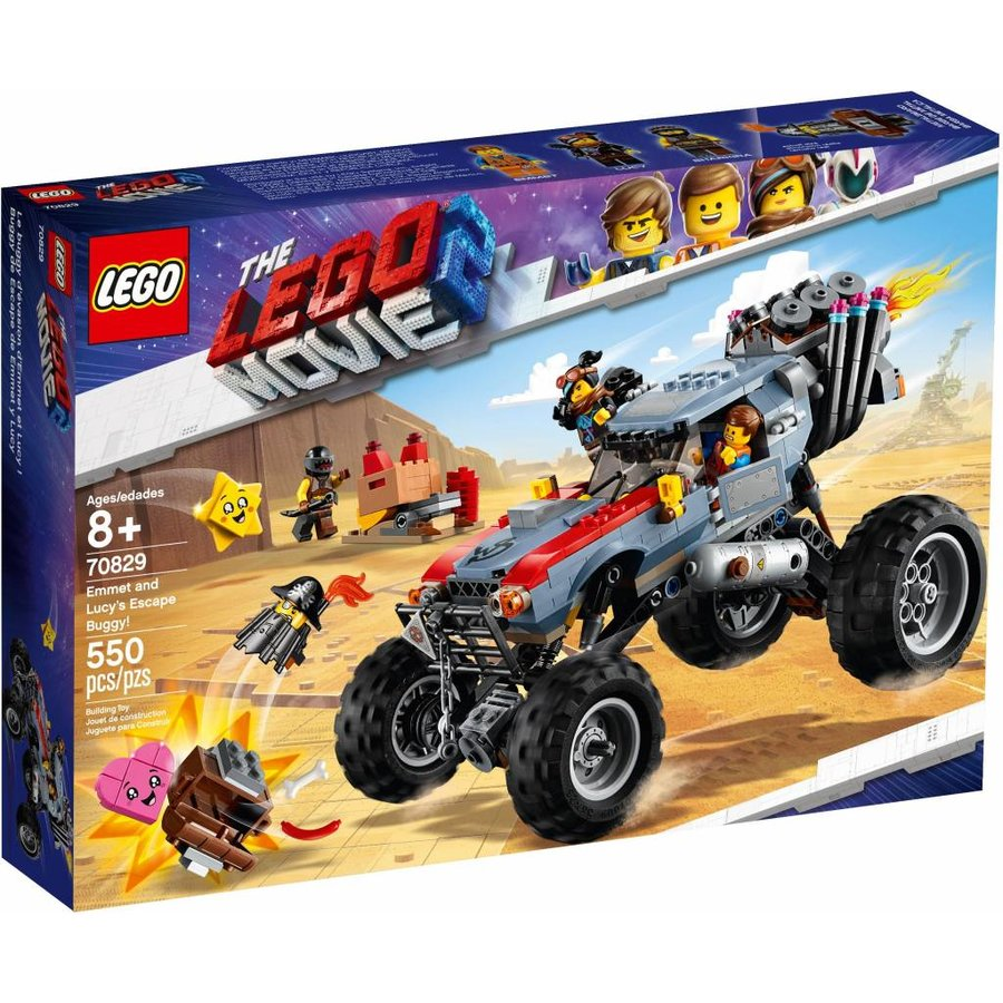 LEGO - The Movie 2 - Emmet and Lucy's Escape Buggy - 70829
