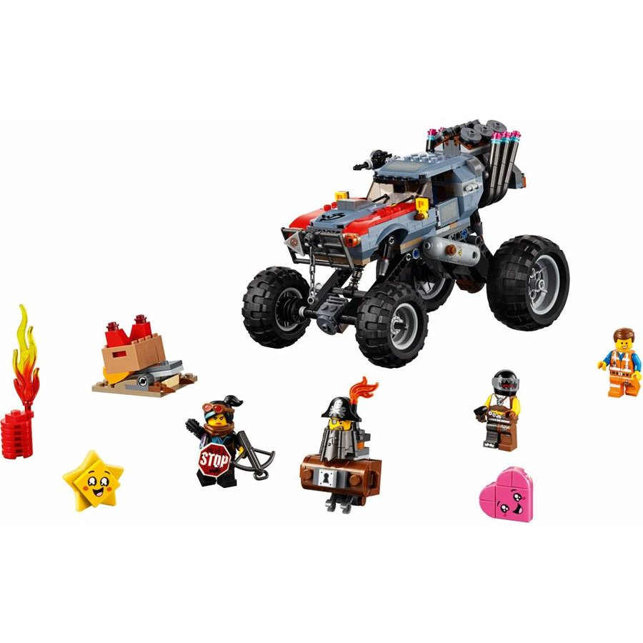 LEGO - The Movie 2 - Emmets en Lucy`s Vlucht Buggy - 70829