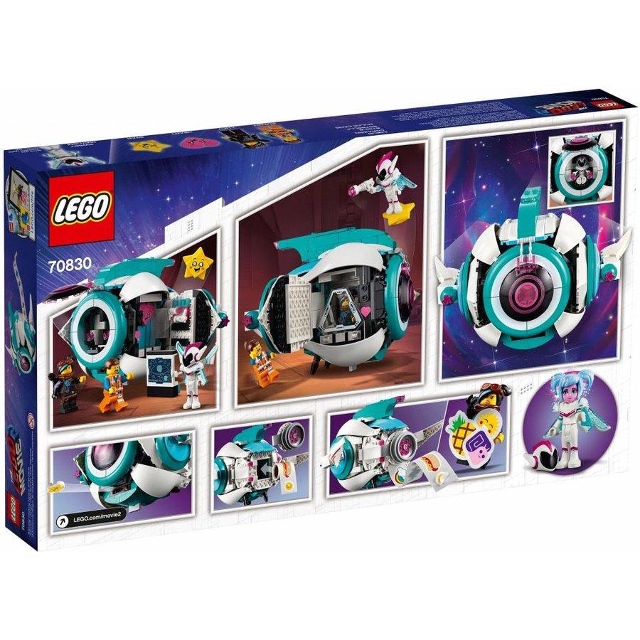 LEGO - The Movie 2 - Lieve Chaos` Systar Ruimteschip - 70830
