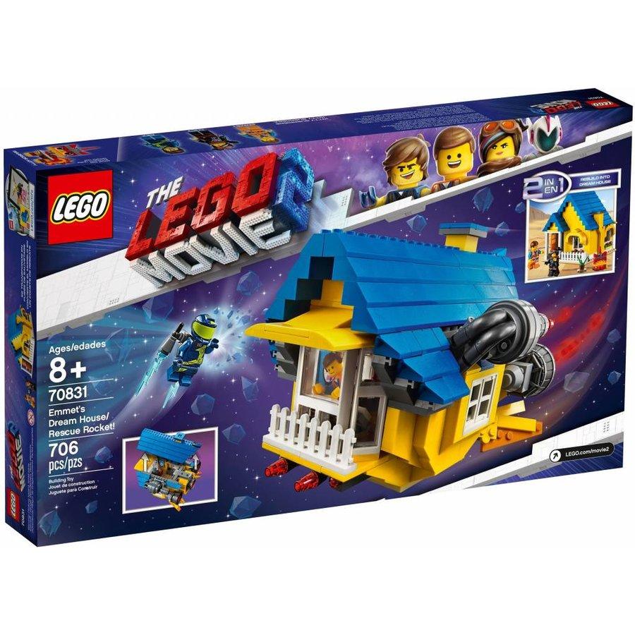 LEGO - The Movie 2 - Emmets Droomhuis/Reddingsraket - 70831