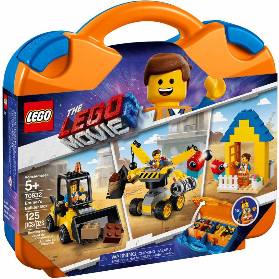 LEGO - The Movie 2 - Emmet's Builder Box - 70832