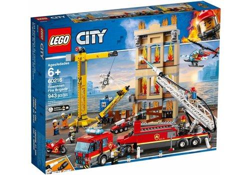 Brandweerkazerne in de Stad