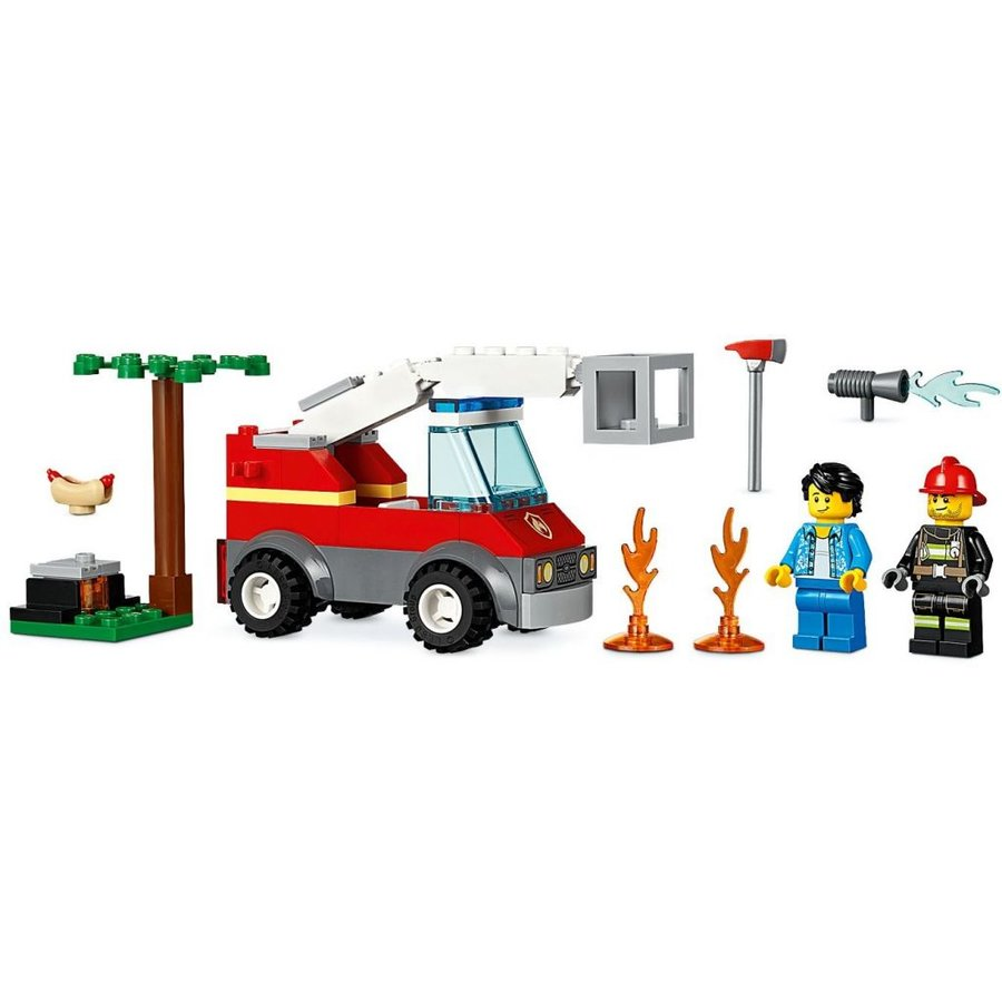 LEGO - City - Barbecue Burn Out - 60212