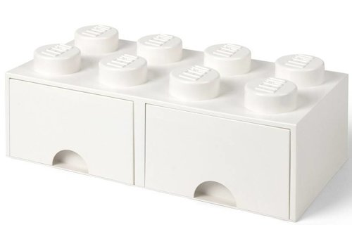 Storage Drawer 2x4 White