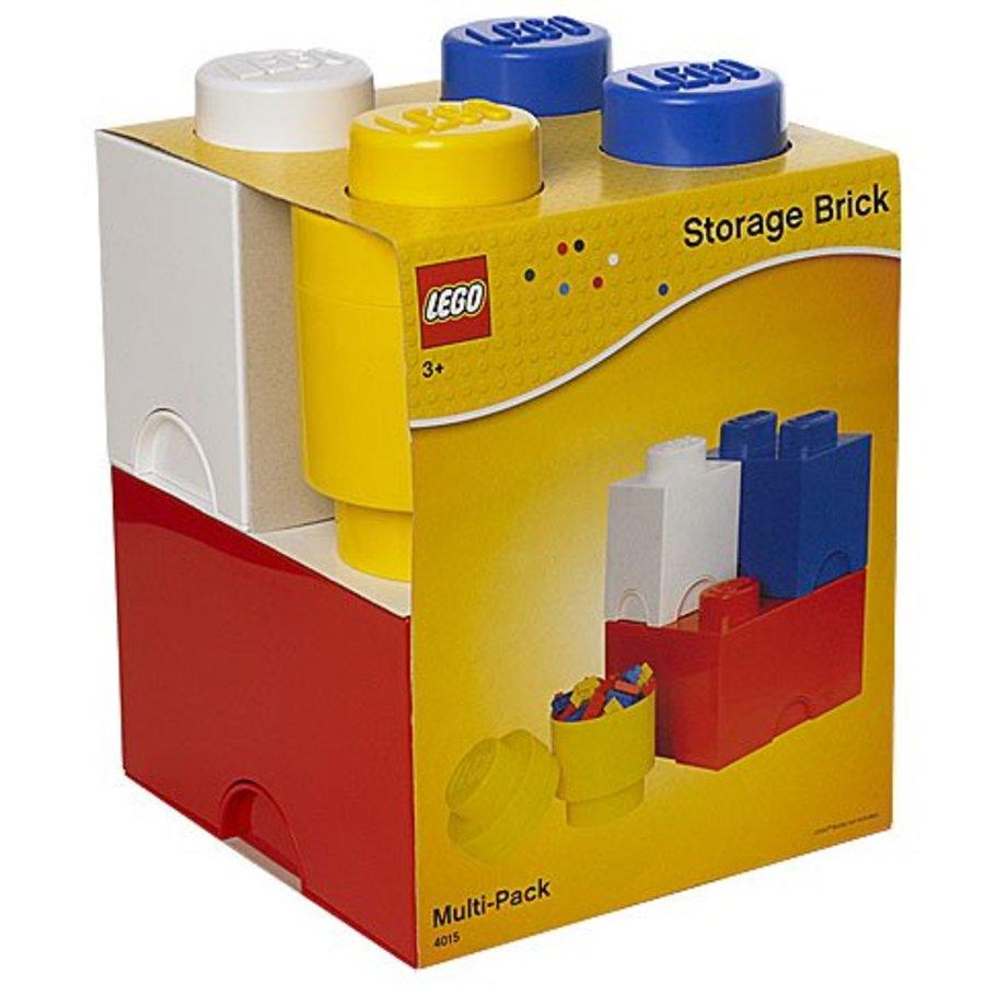 LEGO - Licensed - Multipack 4-piece storage set