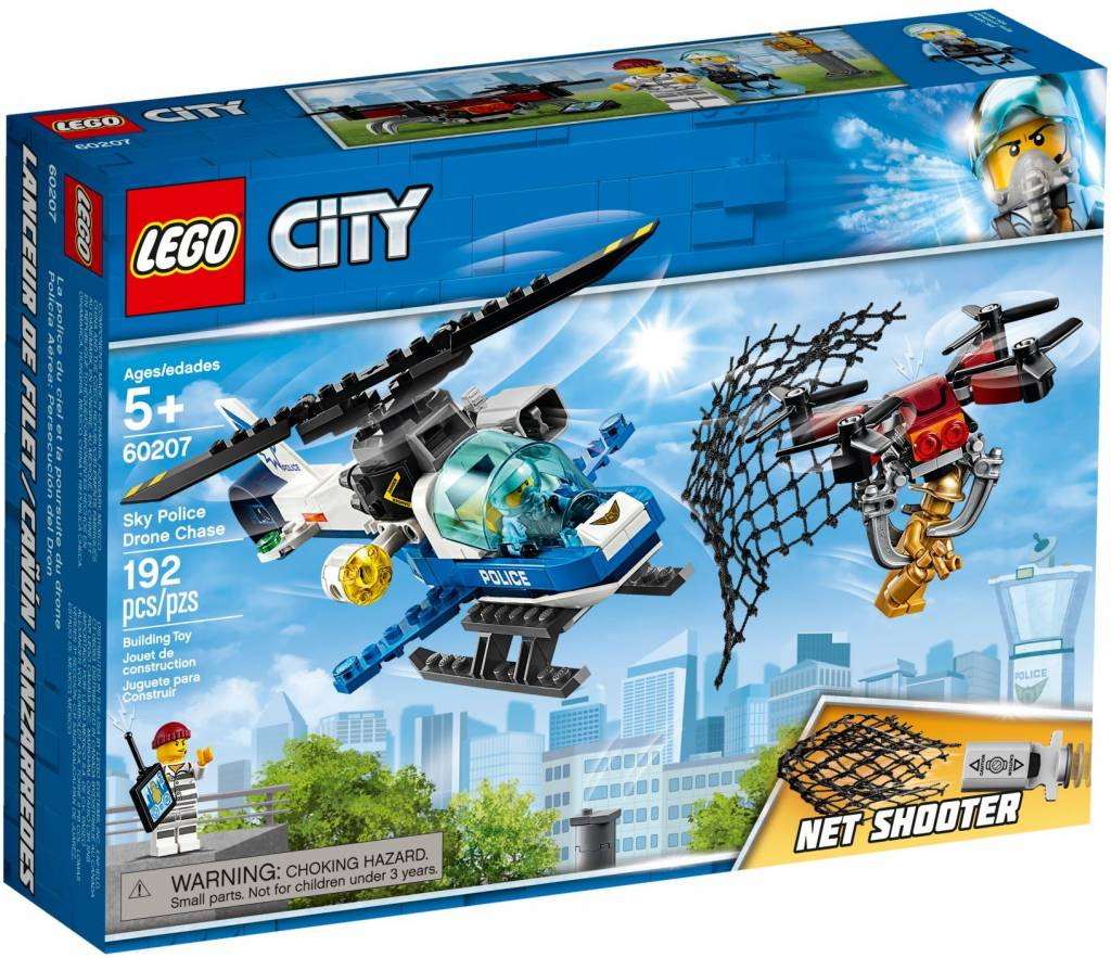 Hedendaags LEGO - City - Sky Police Drone Chase - 60207 - CWJoost 100% LEGO GK-05