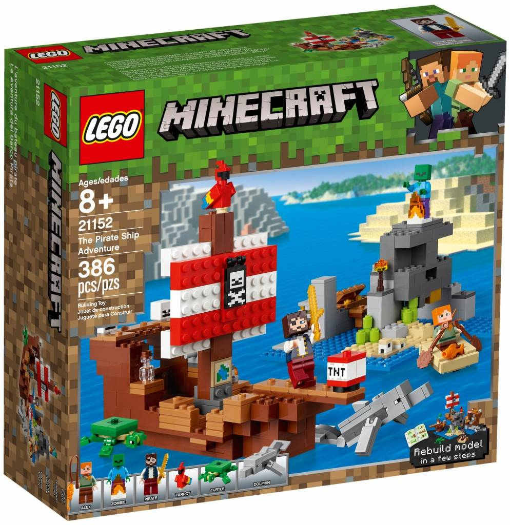 LEGO - Minecraft - Adventure on the Pirate Ship - 21152