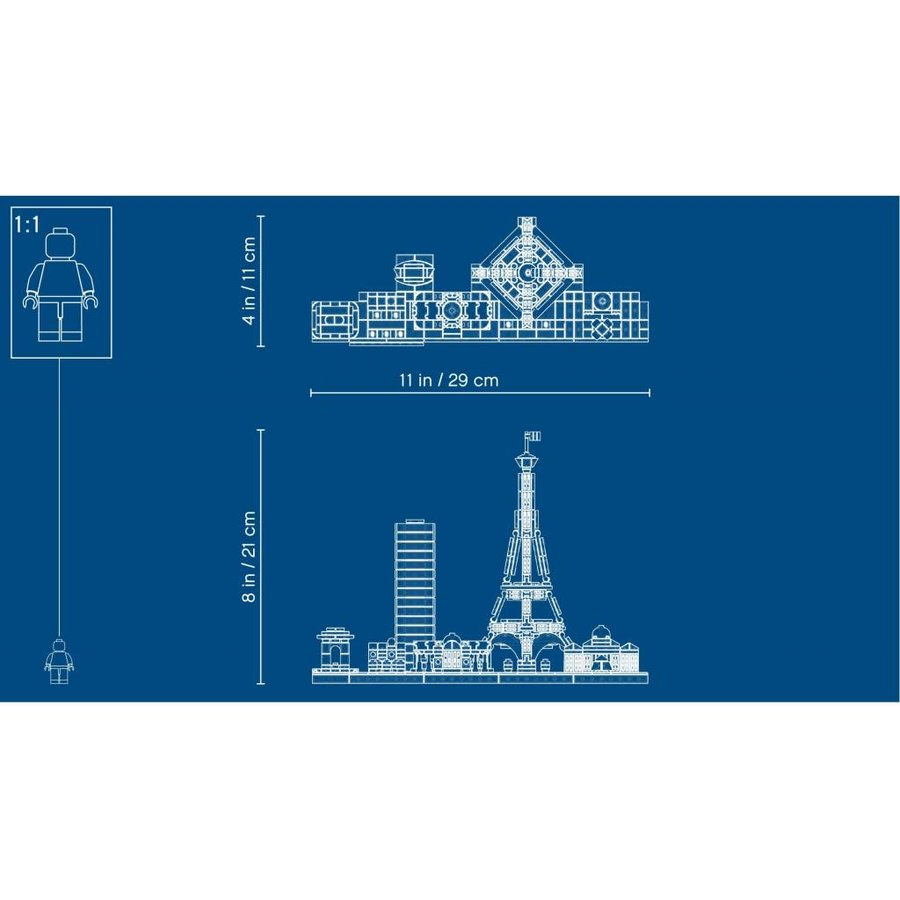 LEGO - Architecture - Parijs - 21044