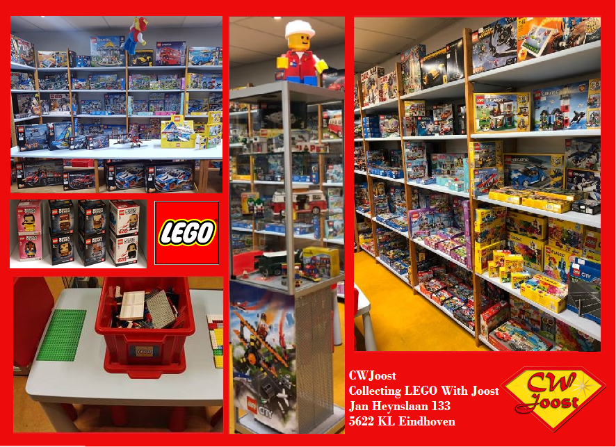 CWJoost LEGO Store in Store Eindhoven