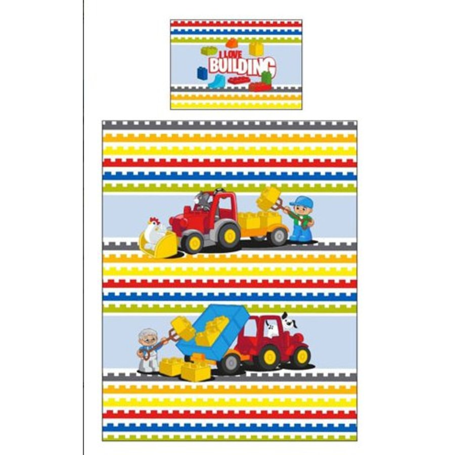 LEGO - Duplo - Duvet Cover - I Love Building