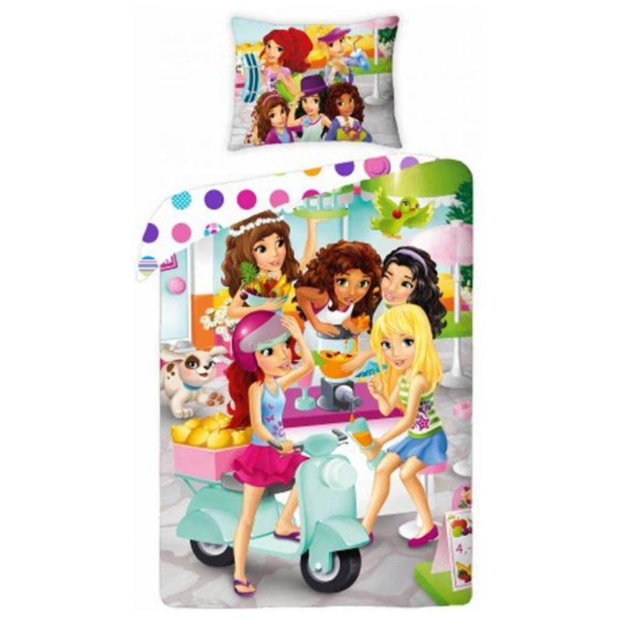 LEGO - Friends - Duvet cover - Haertlake City Girlfriends