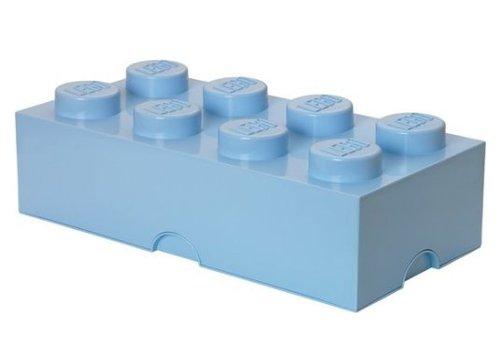 Storage Box LEGO Brick Light Blue