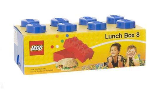Lunchbox 2x4 Blauw