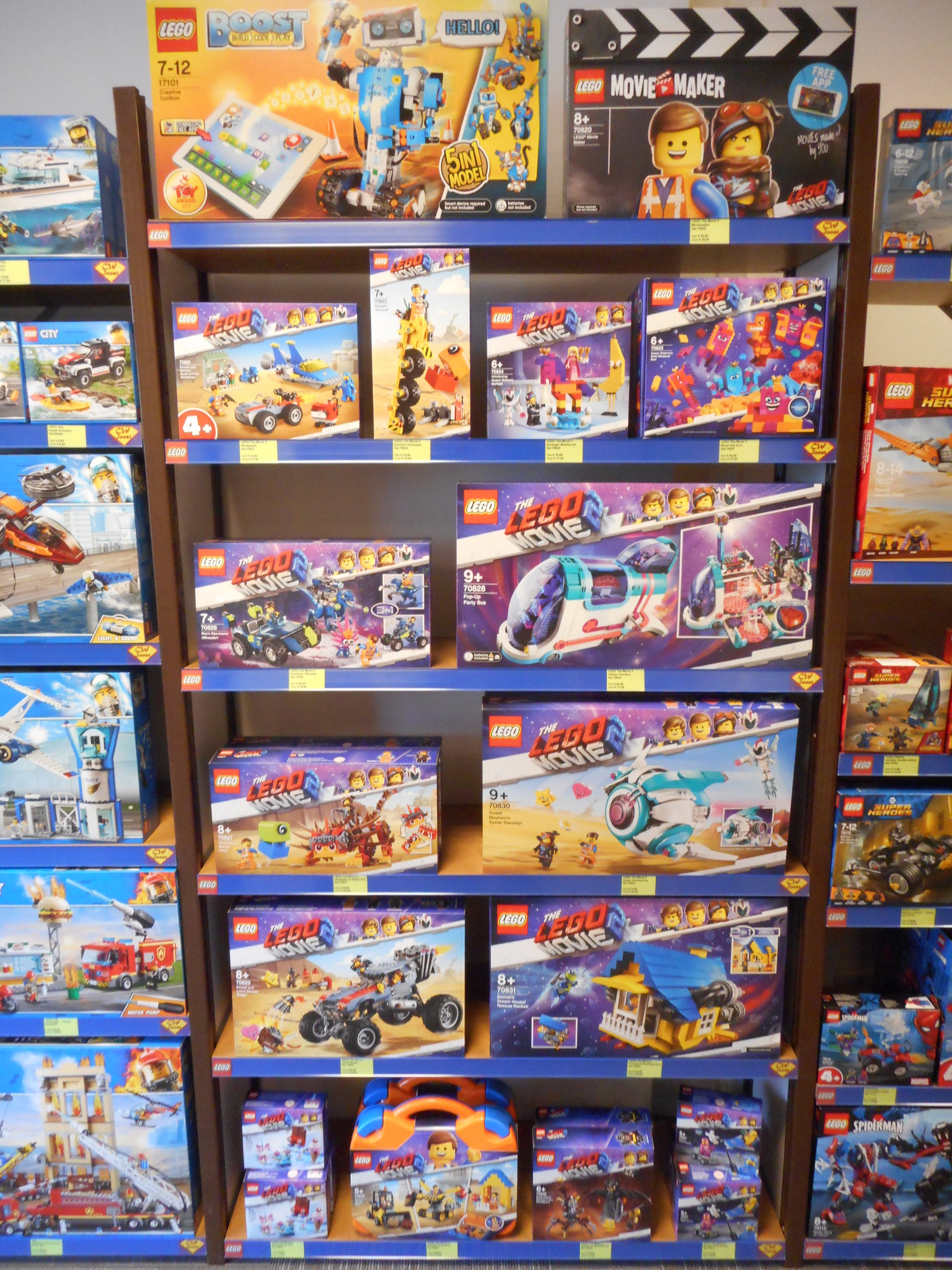 LEGO The Movie 2 sets