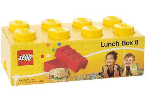 Lunchbox 2x4 Geel