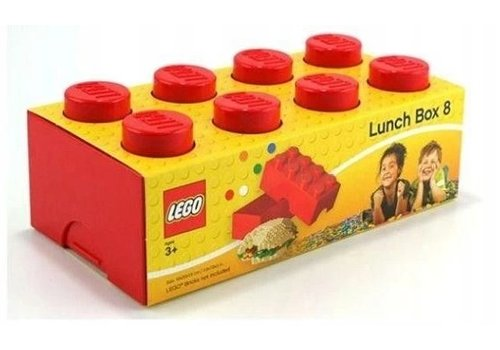 Lunchbox 2x4 Rood