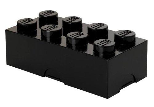 Lunchbox 2x4 Zwart