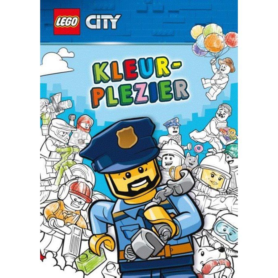LEGO - Boeken - LEGO City - Kleurplezier