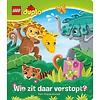 LEGO Duplo LEGO - Boeken - LEGO Duplo - Wie zit daar verstopt?