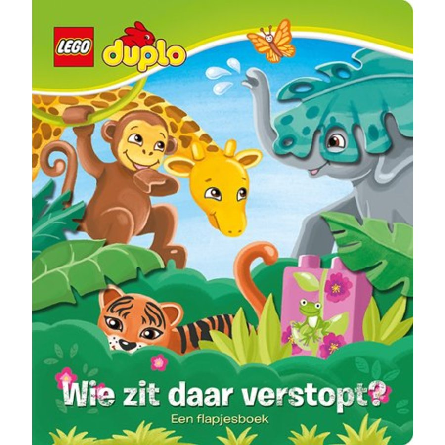 LEGO - Books - LEGO Duplo - Who is hiding there?