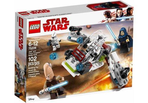 Jedi en Clone Troopers Battle Pack