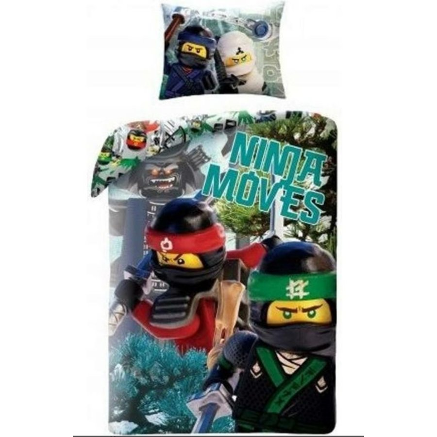 LEGO - Ninjago - Duvet Cover - The Ninjago Movie