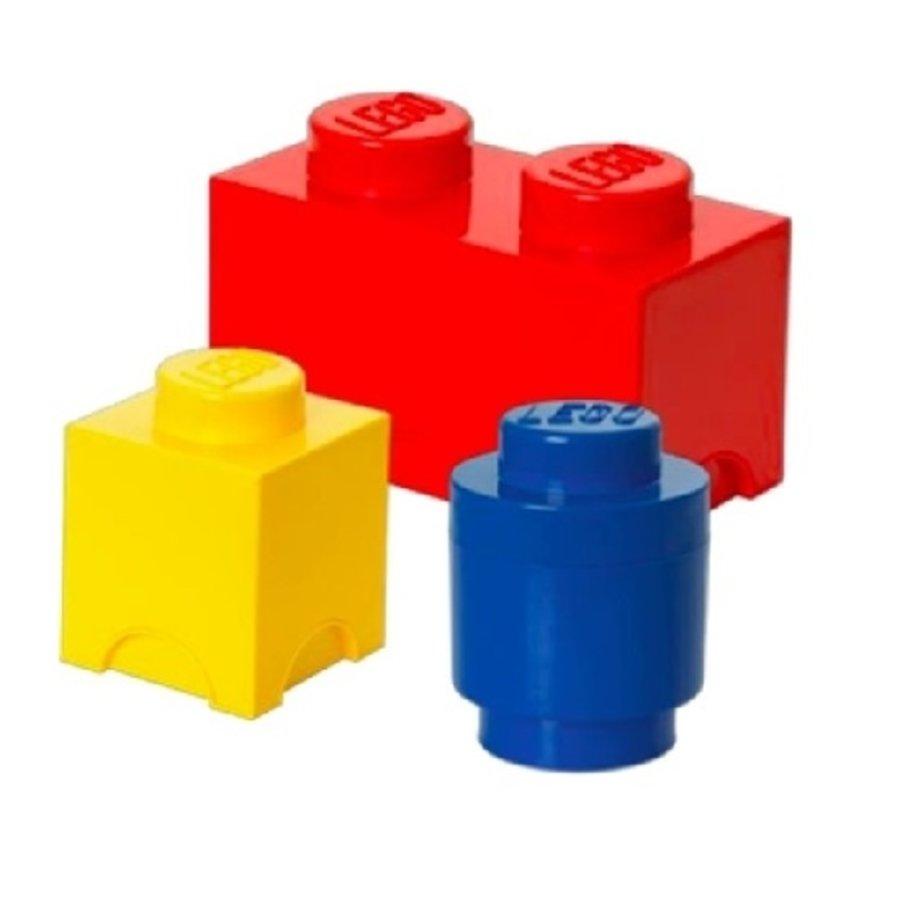 LEGO - Licensed - Storage - Storage Set Multipack 3-piece