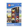 City LEGO® - City - Horloge: Brandweerman