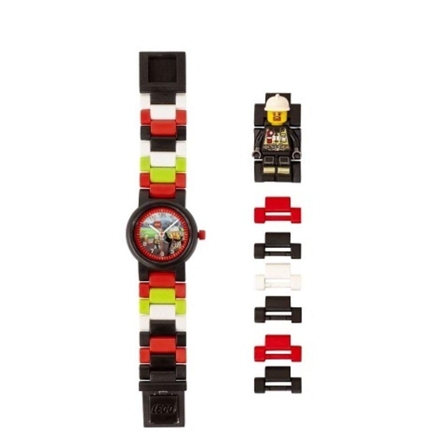 LEGO® - City - Horloge: Brandweerman