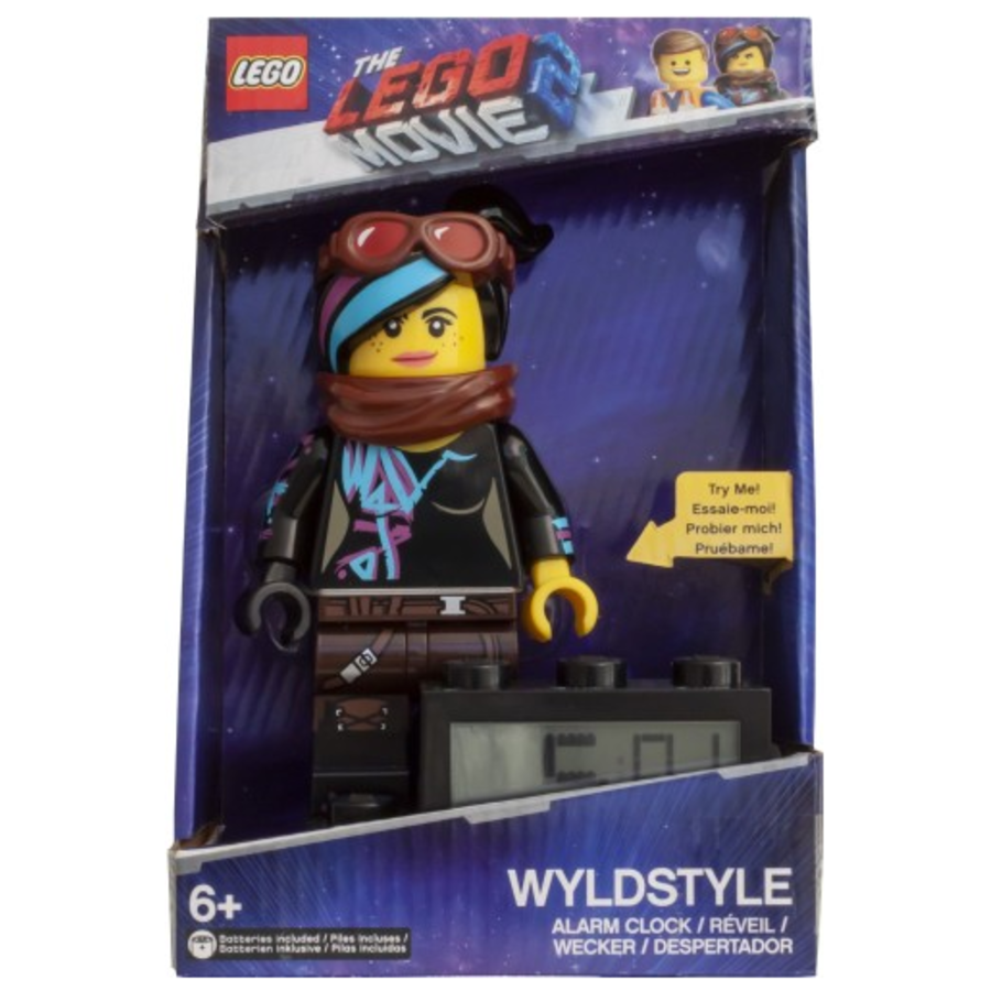 LEGO® The Movie 2 Wekker: Wyldstyle