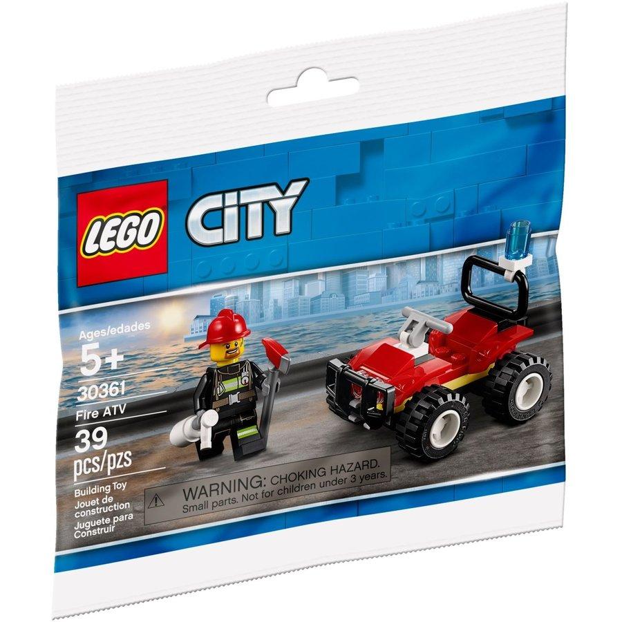 LEGO® City Fire ATV 30361