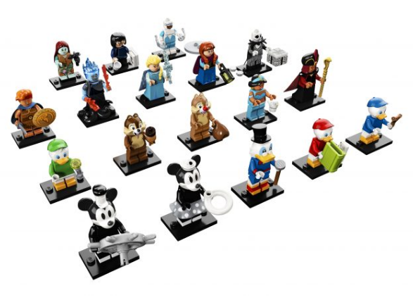 LEGO Disney Collectible minifigures serie 2