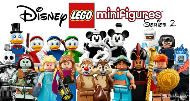 LEGO® Disney 2 Collectible Minifigures onthult!