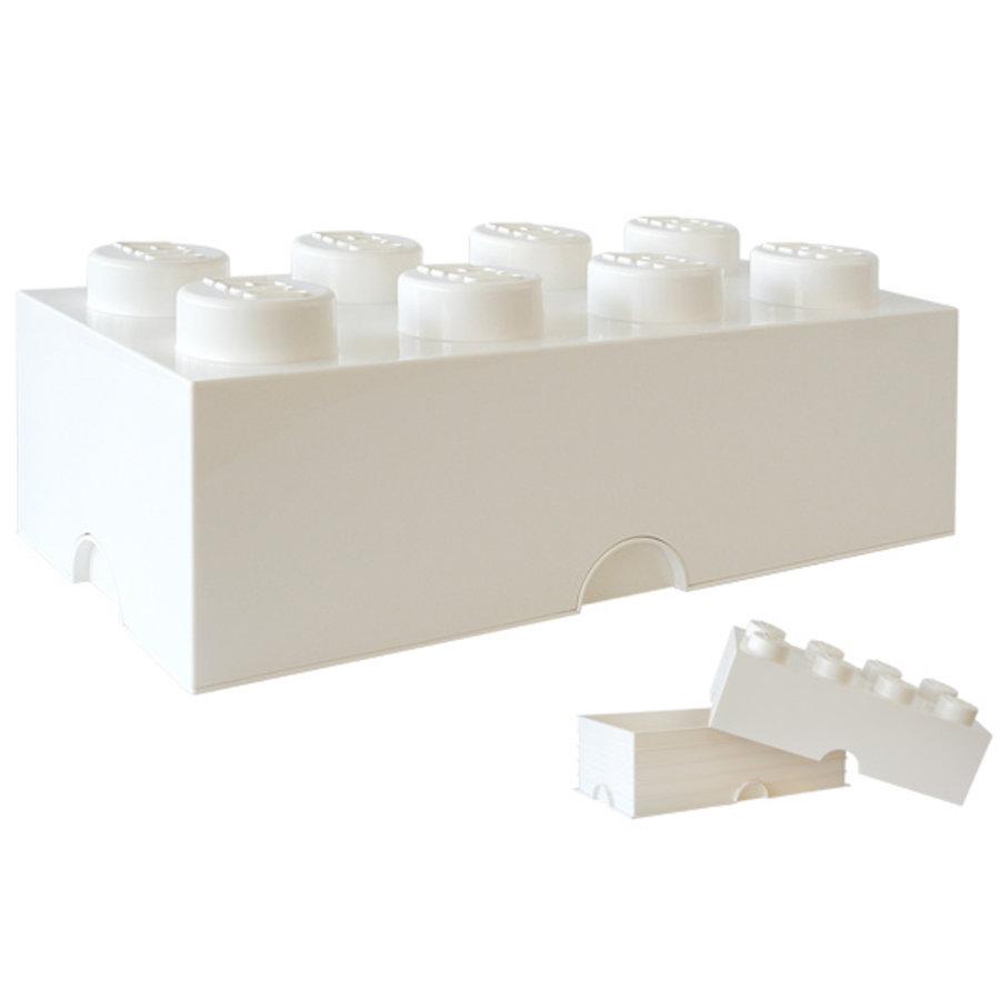 LEGO - Licensed - Opbergbox LEGO Brick Wit