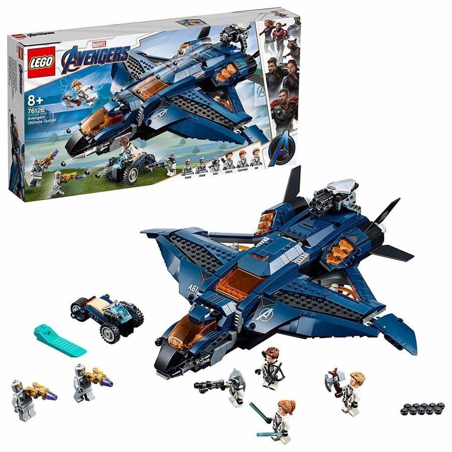 LEGO® Marvel Avengers Avengers Ultimate Quinjet 76126